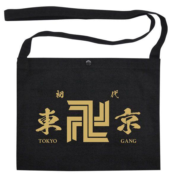 東京復仇者 「東京卍會」黑色 Musette 單肩袋 TV Anime Tokyo Manji Gang Musette Bag【Tokyo Revengers】