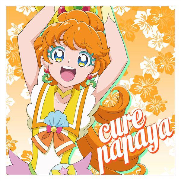 光之美少女系列 「一之瀨實 / 水果天使」Cushion 套 Cure Papaya Cushion Cover【Pretty Cure Series】