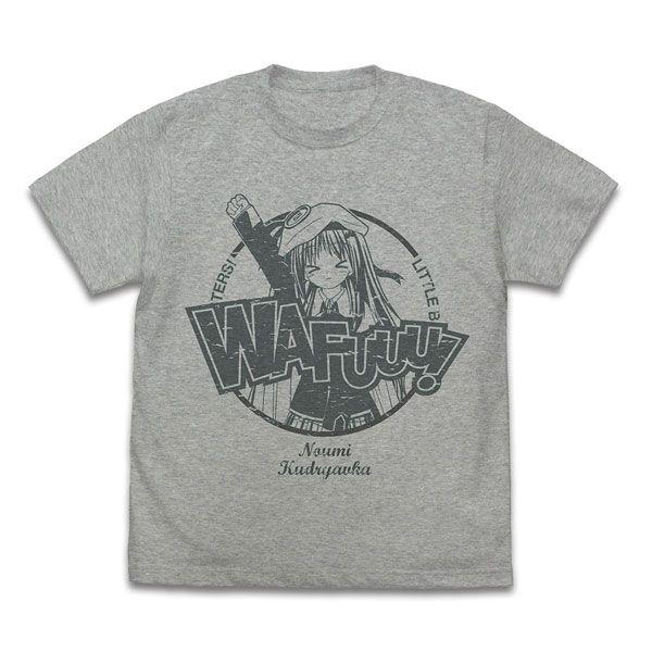 校園剋星! (中碼)「能美」混合灰色 T-Shirt Wahoo! Kudryavka T-Shirt /MIX GRAY-M【Little Busters!】