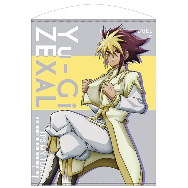 遊戲王 「IV」決鬥の鬥志Ver. 100cm 掛布 Quattro 100cm Wall Scroll Heated Up Battle Ver.【Yu-Gi-Oh!】