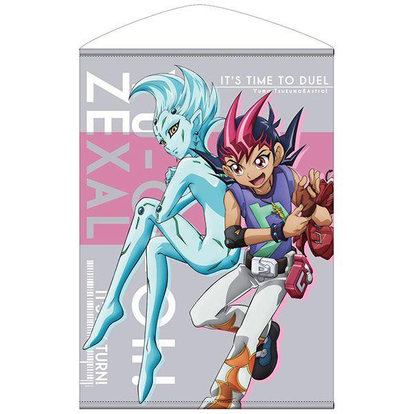 遊戲王 「九十九遊馬 + 阿斯特拉爾」決鬥の鬥志Ver. B2 掛布 Yuma & Astral B2 Wall Scroll Heated Up Battle Ver.【Yu-Gi-Oh!】