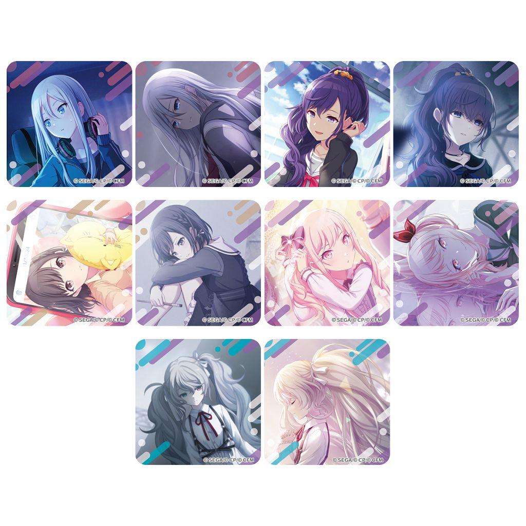 世界計劃 多彩舞台 feat.初音未來 「25時、ナイトコードで。」亞克力磁貼 (10 個入) Acrylic Magnet Collection 25-ji, Night Code de. (10 Pieces)【Project Sekai: Colorful Stage! feat. Hatsune Miku】