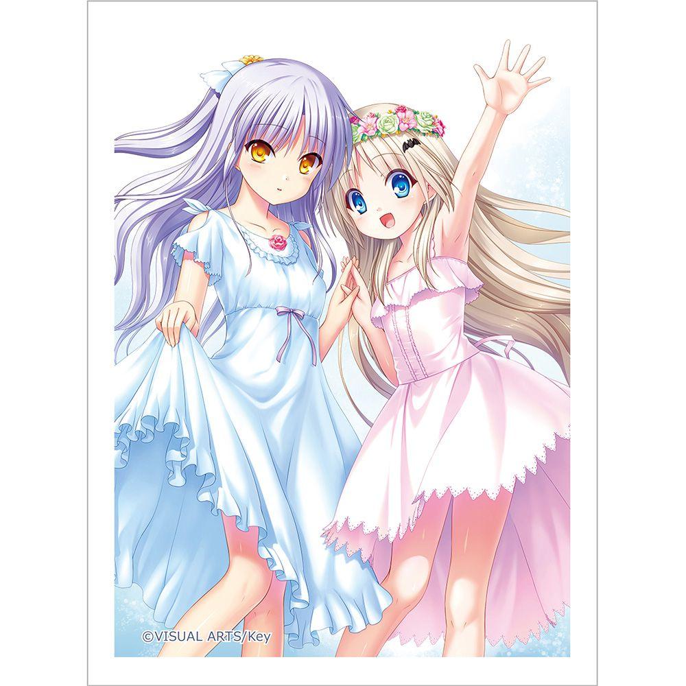 "天使的脈動 「立華奏 + 能美」咭套 (60 枚入) Key Sleeve ""Angel Beats!"" Kanade & ""Little Busters!"" Kud【Angel Beats!】"