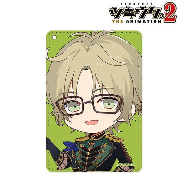 月歌。 「彌生春」角色Q版 證件套 Haru Yayoi Chibi Chara 1-Pocket Pass Case【Tsukiuta.】