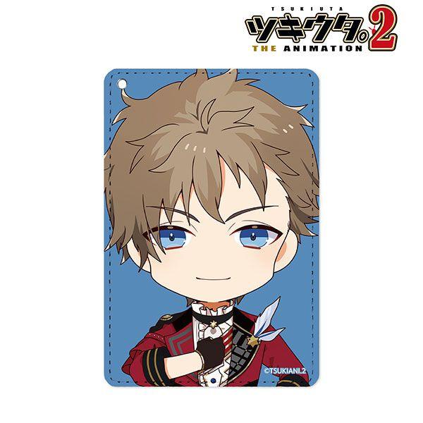 月歌。 「文月海」角色Q版 證件套 Kai Fuduki Chibi Chara 1-Pocket Pass Case【Tsukiuta.】