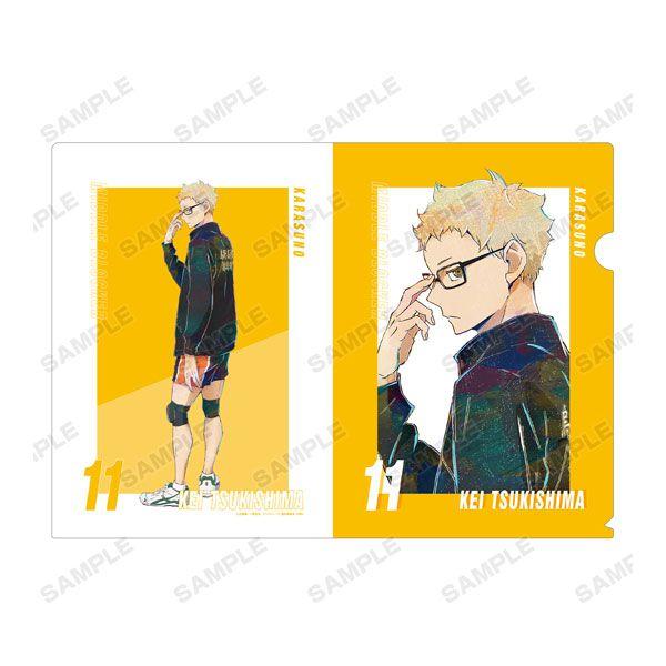 排球少年!! 「月島螢」Ani-Art A4 文件套 Vol.5 Kei Tsukishima Ani-Art Vol.5 Clear File【Haikyu!!】