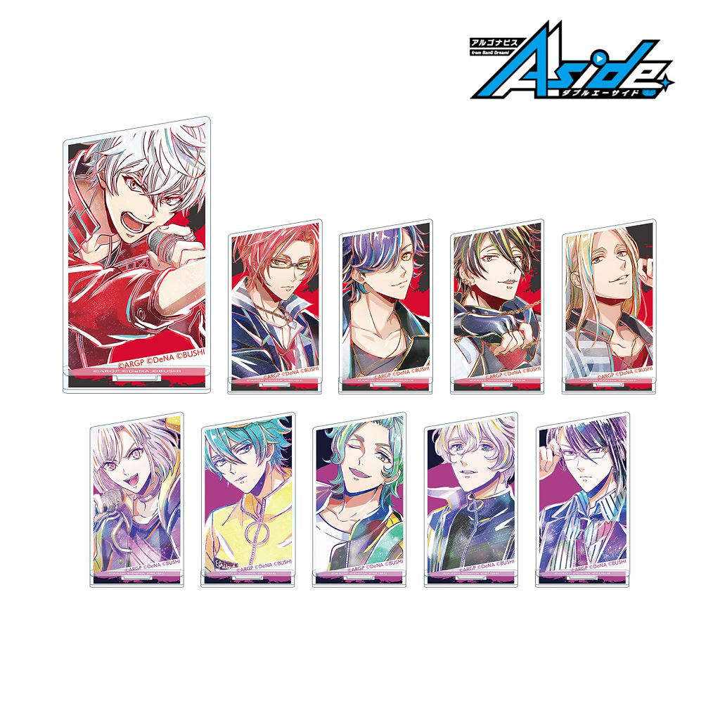 BanG Dream! AAside Ani-Art 亞克力企牌  Vol.2 Ver. B (10 個入) Ani-Art Vol. 2 Acrylic Stand Ver. B (10 Pieces)【ARGONAVIS from BanG Dream! AAside】