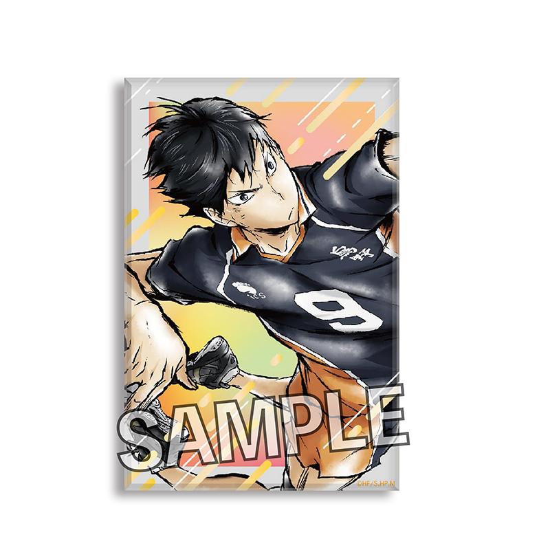 排球少年!! 「影山飛雄」激闘!!自立亞克力牌子 Gekitou!! Tsumi Art Block Kageyama Tobio【Haikyu!!】