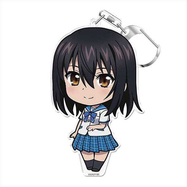 噬血狂襲 「姬柊雪菜」にこれ!亞克力匙扣 (附台座) OVA Puni Colle! Key Chain (w/Stand) Yukina Himeragi【Strike the Blood】