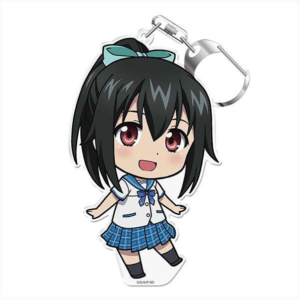 噬血狂襲 「曉凪沙」にこれ!亞克力匙扣 (附台座) OVA Puni Colle! Key Chain (w/Stand) Nagisa Akatsuki【Strike the Blood】