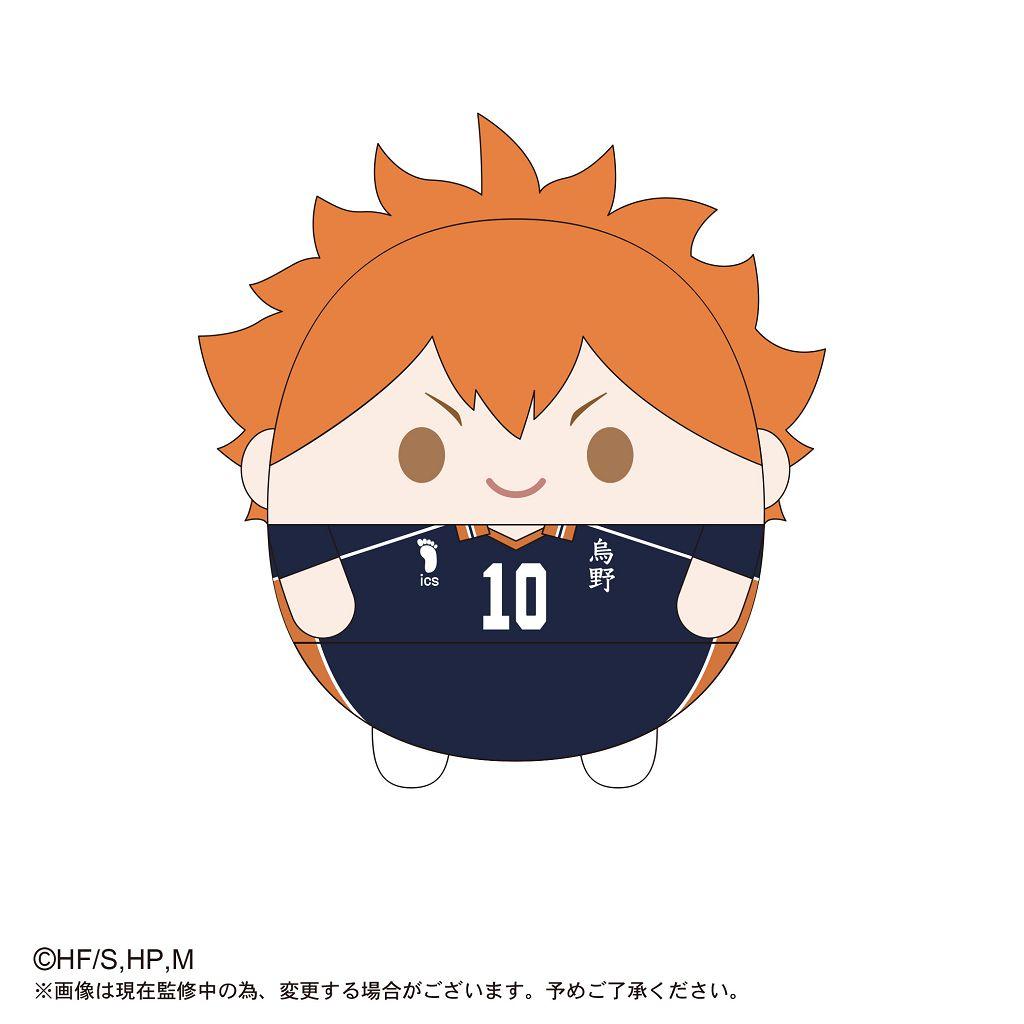 排球少年!! 「日向翔陽」20cm 圓碌碌 公仔 HQ-18 Fuwakororin (M Size) A Hinata Shoyo【Haikyu!!】