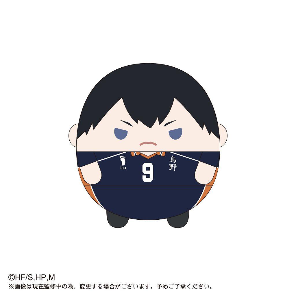 排球少年!! 「影山飛雄」20cm 圓碌碌 公仔 HQ-18 Fuwakororin (M Size) B Kageyama Tobio【Haikyu!!】
