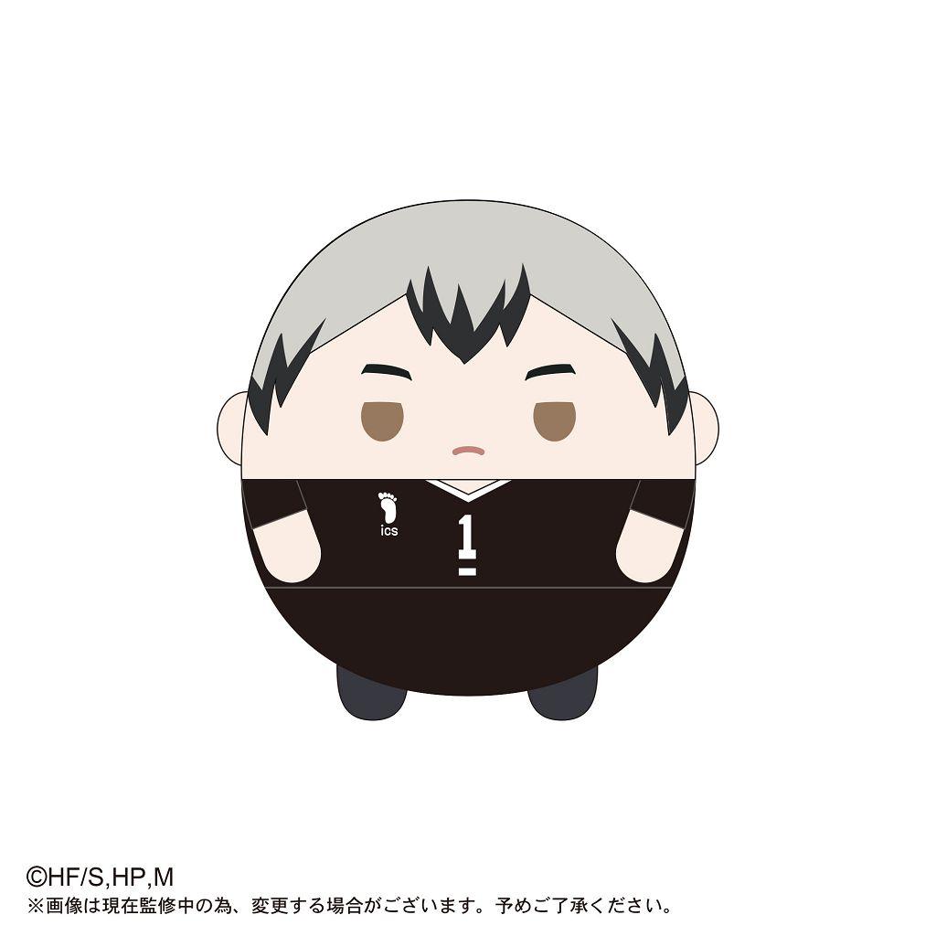 排球少年!! 「北信介」20cm 圓碌碌 公仔 HQ-18 Fuwakororin (M Size) C Kita Shinsuke【Haikyu!!】