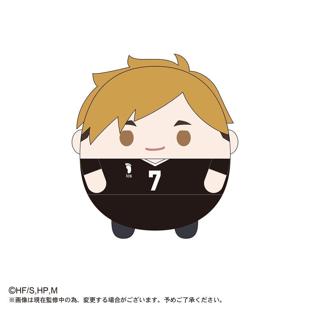 排球少年!! 「宮侑」20cm 圓碌碌 公仔 HQ-18 Fuwakororin (M Size) D Miya Atsumu【Haikyu!!】