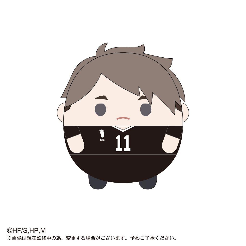 排球少年!! 「宮治」20cm 圓碌碌 公仔 HQ-18 Fuwakororin (M Size) E Miya Osamu【Haikyu!!】