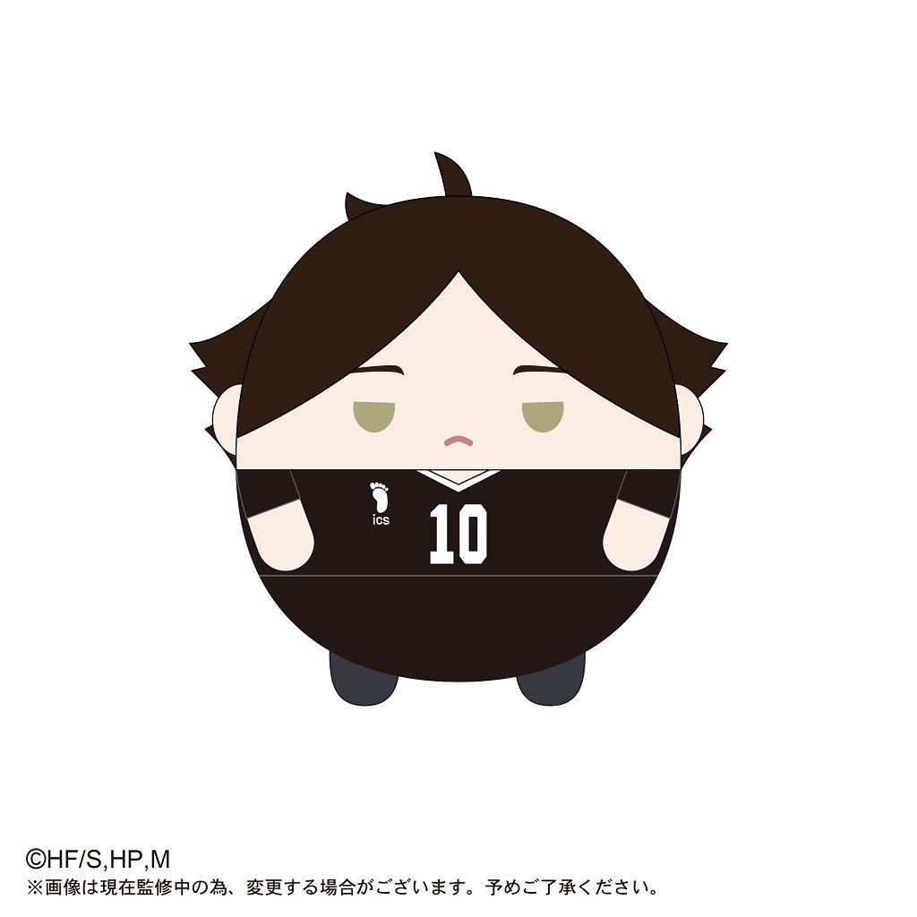排球少年!! 「角名倫太郎」20cm 圓碌碌 公仔 HQ-18 Fuwakororin (M Size) F Suna Rintaro【Haikyu!!】