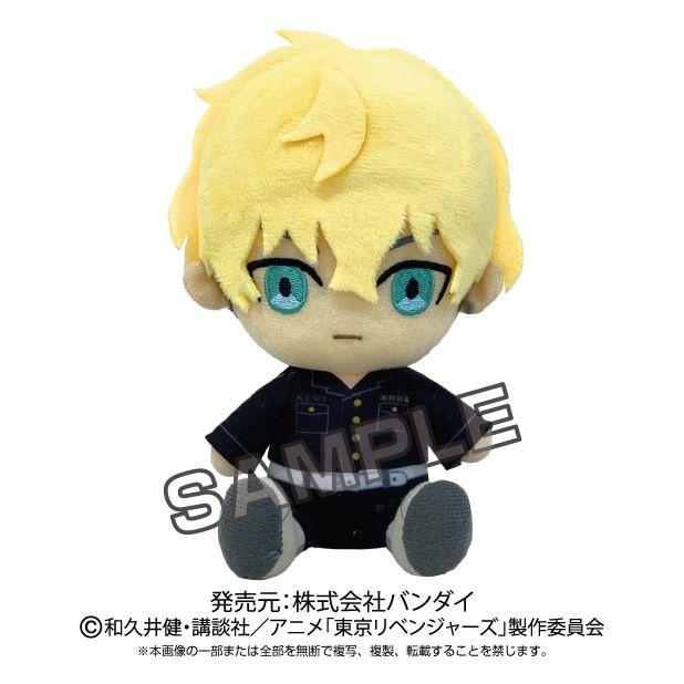 東京復仇者 「松野千冬」坐著公仔 TV Anime Chibi Plush Chifuyu Matsuno【Tokyo Revengers】
