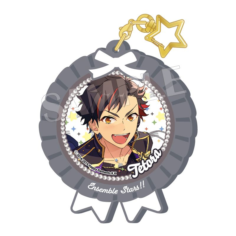 合奏明星 「南雲鐵虎」Pitatto 橡膠匙扣 Ver.2 Pitatto Key Chain Ver. 2 Nagumo Tetora【Ensemble Stars!】