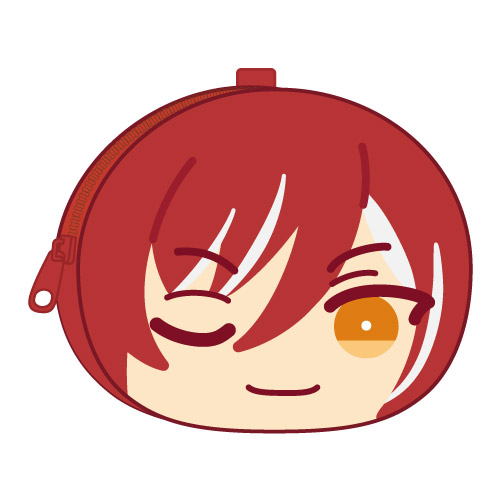 合奏明星 「逆先夏目」鬆軟饅頭 散銀包 Omanju Fukafuka Pouch 1 7 Sakasaki Natsume【Ensemble Stars!】