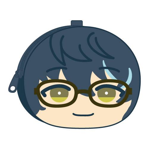 合奏明星 「青葉つむぎ」鬆軟饅頭 散銀包 Omanju Fukafuka Pouch 1 8 Aoba Tsumugi【Ensemble Stars!】