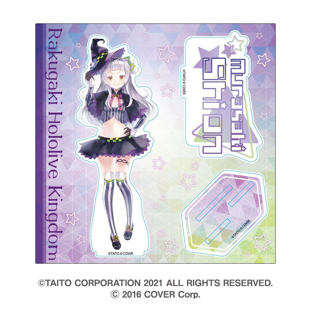 虛擬偶像 「紫咲シオン」hololive 亞克力企牌 Rakugaki Kingdom Hololive Acrylic Stand Murasaki Shion【Virtual YouTuber】