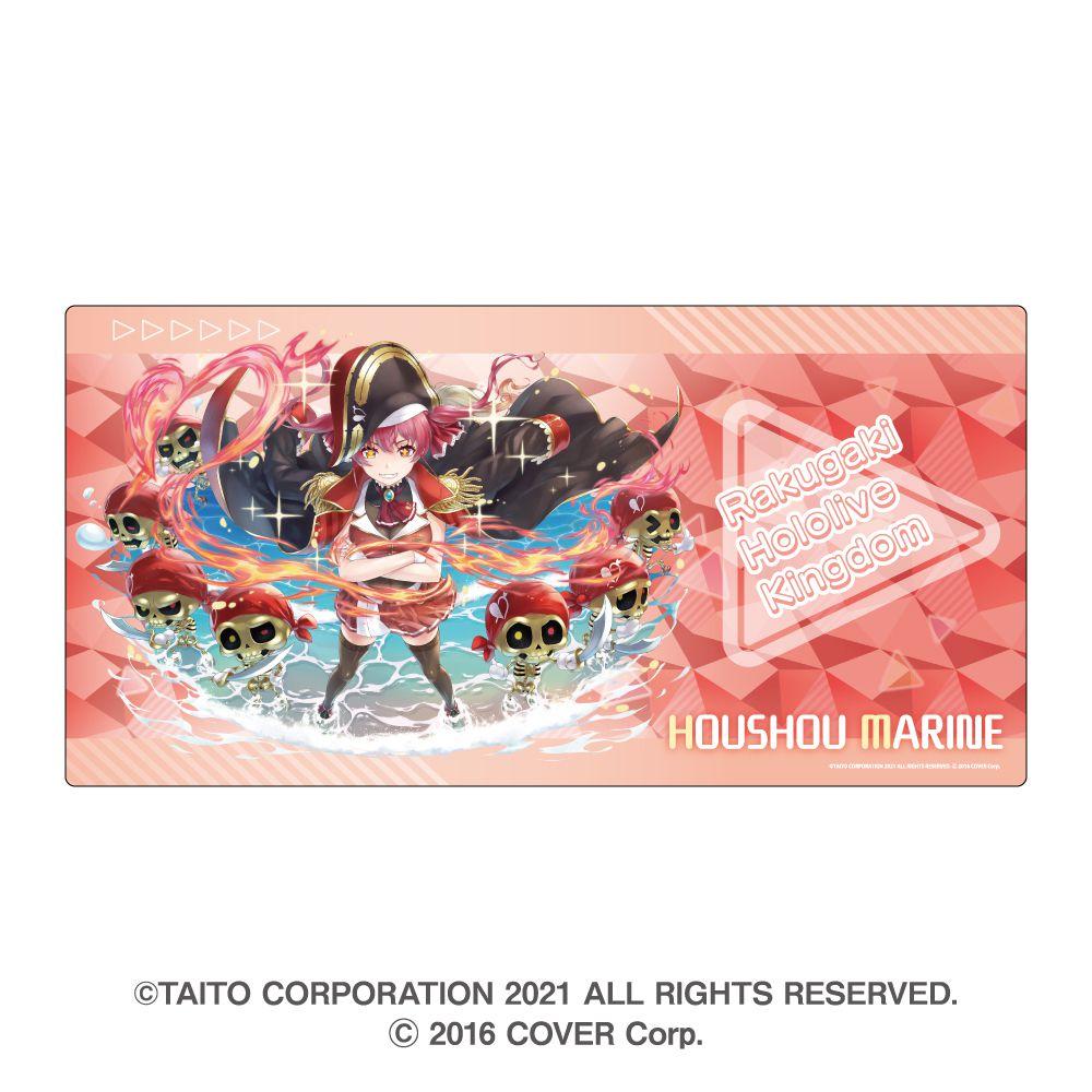 虛擬偶像 「寶鐘瑪琳」滑鼠墊 Rakugaki Kingdom Hololive Gaming Mouse Pad Houshou Marine【Virtual YouTuber】