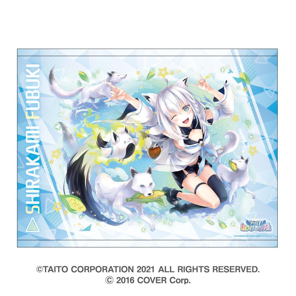 虛擬偶像 「白上吹雪」B2 掛布 Rakugaki Kingdom Hololive B2 Tapestry Shirakami Fubuki【Virtual YouTuber】