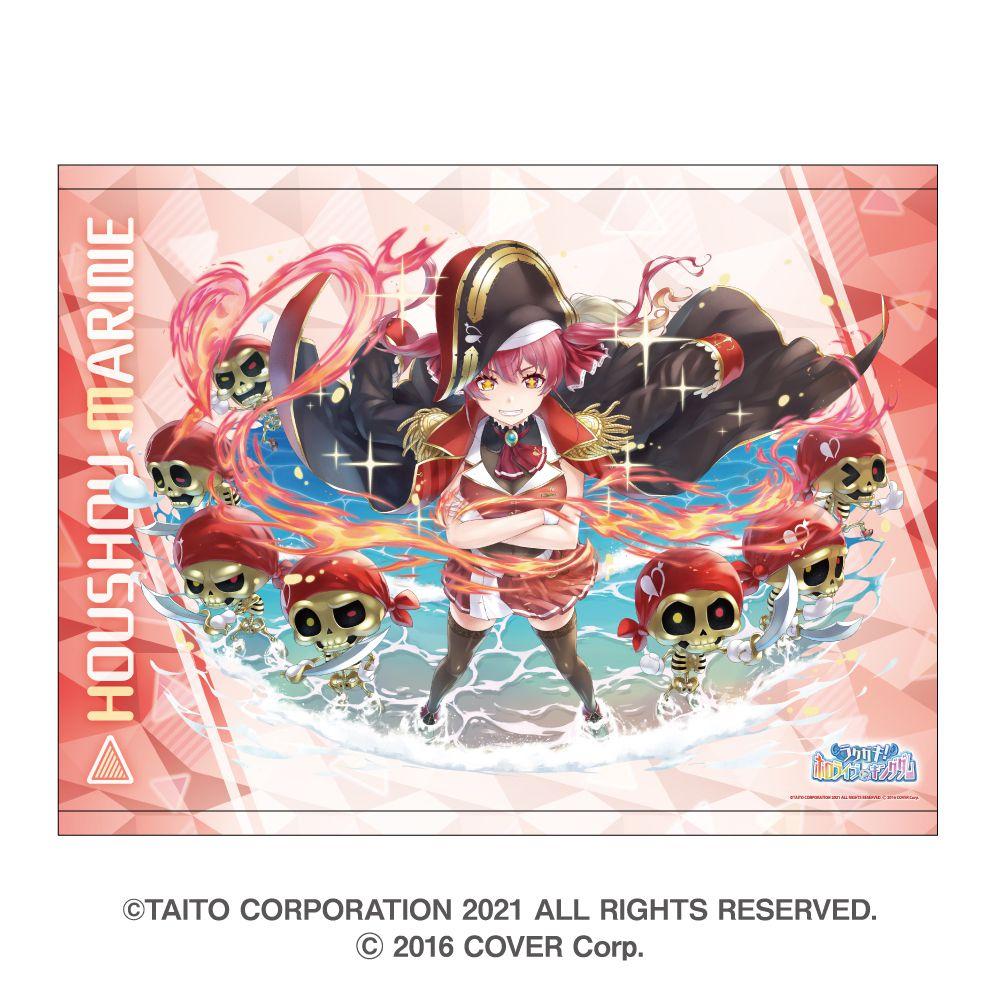 虛擬偶像 「寶鐘瑪琳」B2 掛布 Rakugaki Kingdom Hololive B2 Tapestry Houshou Marine【Virtual YouTuber】