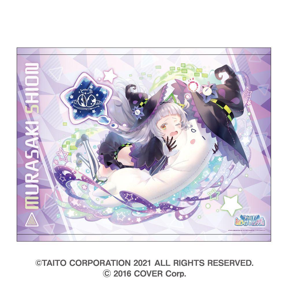 虛擬偶像 「紫咲シオン」B2 掛布 Rakugaki Kingdom Hololive B2 Tapestry Murasaki Shion【Virtual YouTuber】