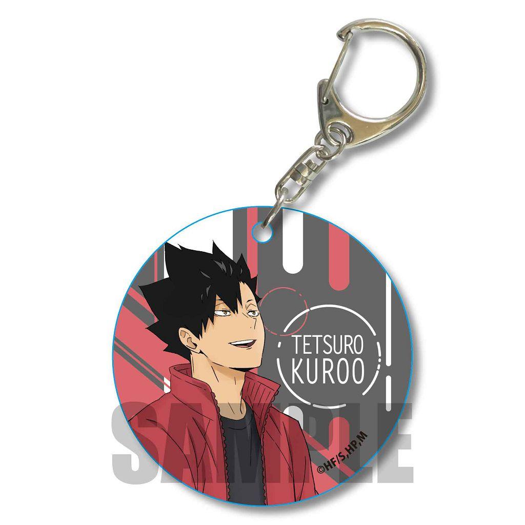 排球少年!! 「黑尾鐵朗」Rain Ver. 軟PVC 透明掛飾 Soft Clear Charm Kuroo Tetsuro Rain Ver.【Haikyu!!】