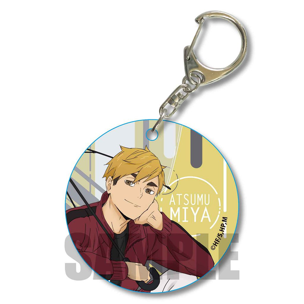 排球少年!! 「宮侑」Rain Ver. 軟PVC 透明掛飾 Soft Clear Charm Miya Atsumu Rain Ver.【Haikyu!!】