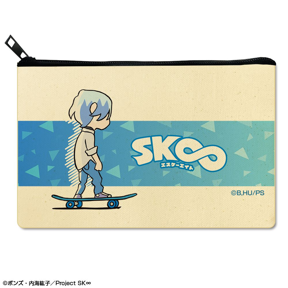 SK∞ 「馳河藍加」平板袋 Flat Pouch Design 02 Langa【SK8 the Infinity】