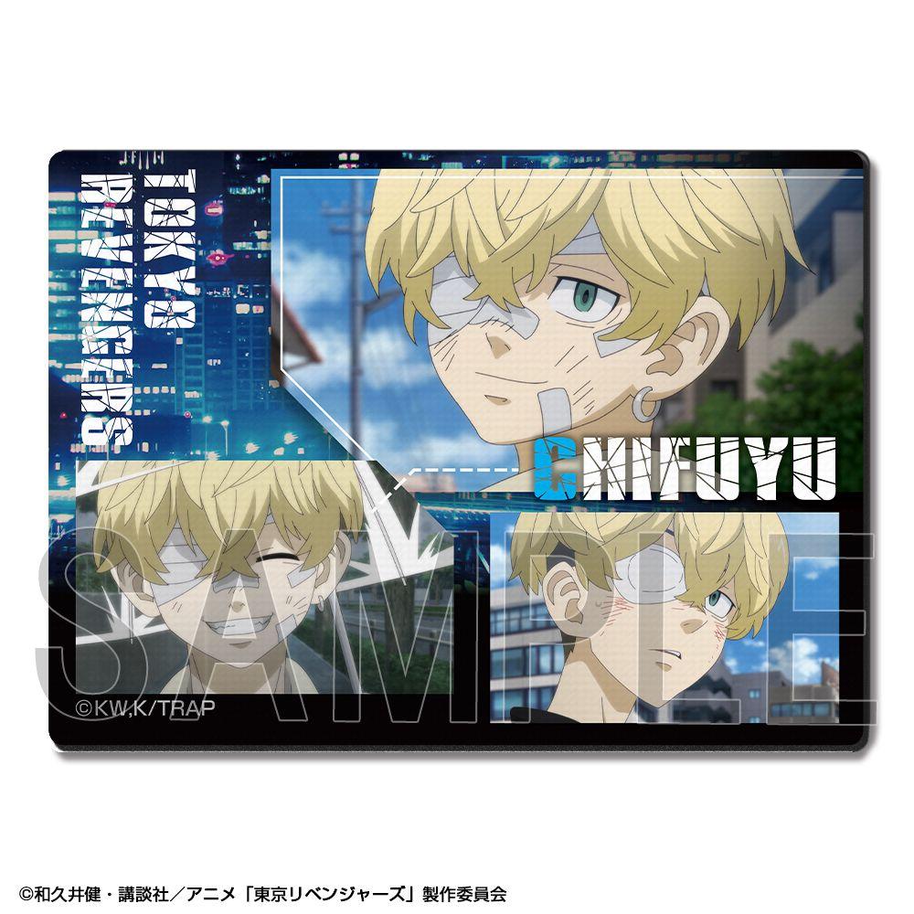 東京復仇者 「松野千冬」橡膠滑鼠墊 Rubber Mouse Pad Design 05 Matsuno Chifuyu【Tokyo Revengers】
