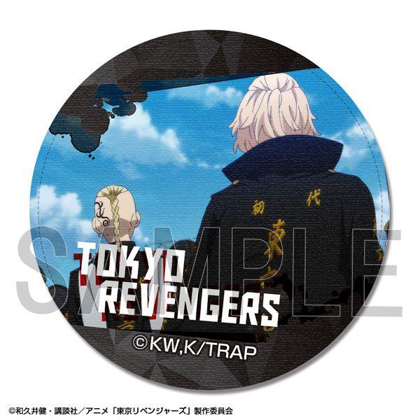 東京復仇者 「佐野萬次郎 + 龍宮寺堅」皮革徽章 TV Anime Leather Badge Design 27 (Manjirou Sano & Ken Ryuuguuji)【Tokyo Revengers】