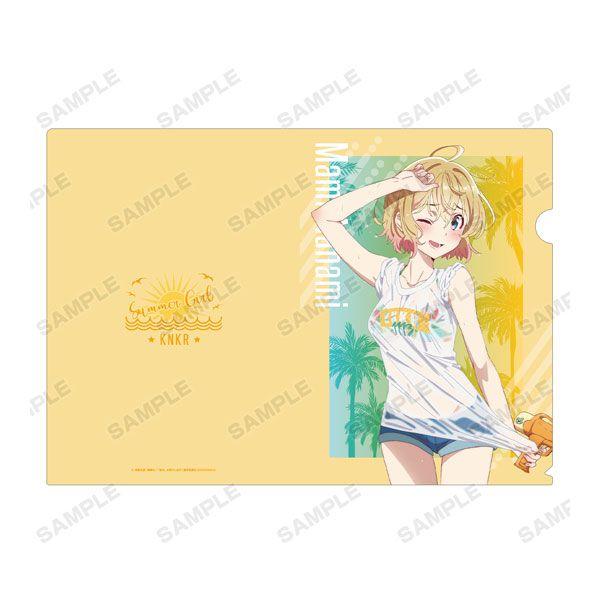 出租女友 「七海麻美」沙灘水槍 Ver. A4 文件套 TV Anime New Illustration Mami Nanami Beach Date ver. Clear File【Rent-A-Girlfriend】