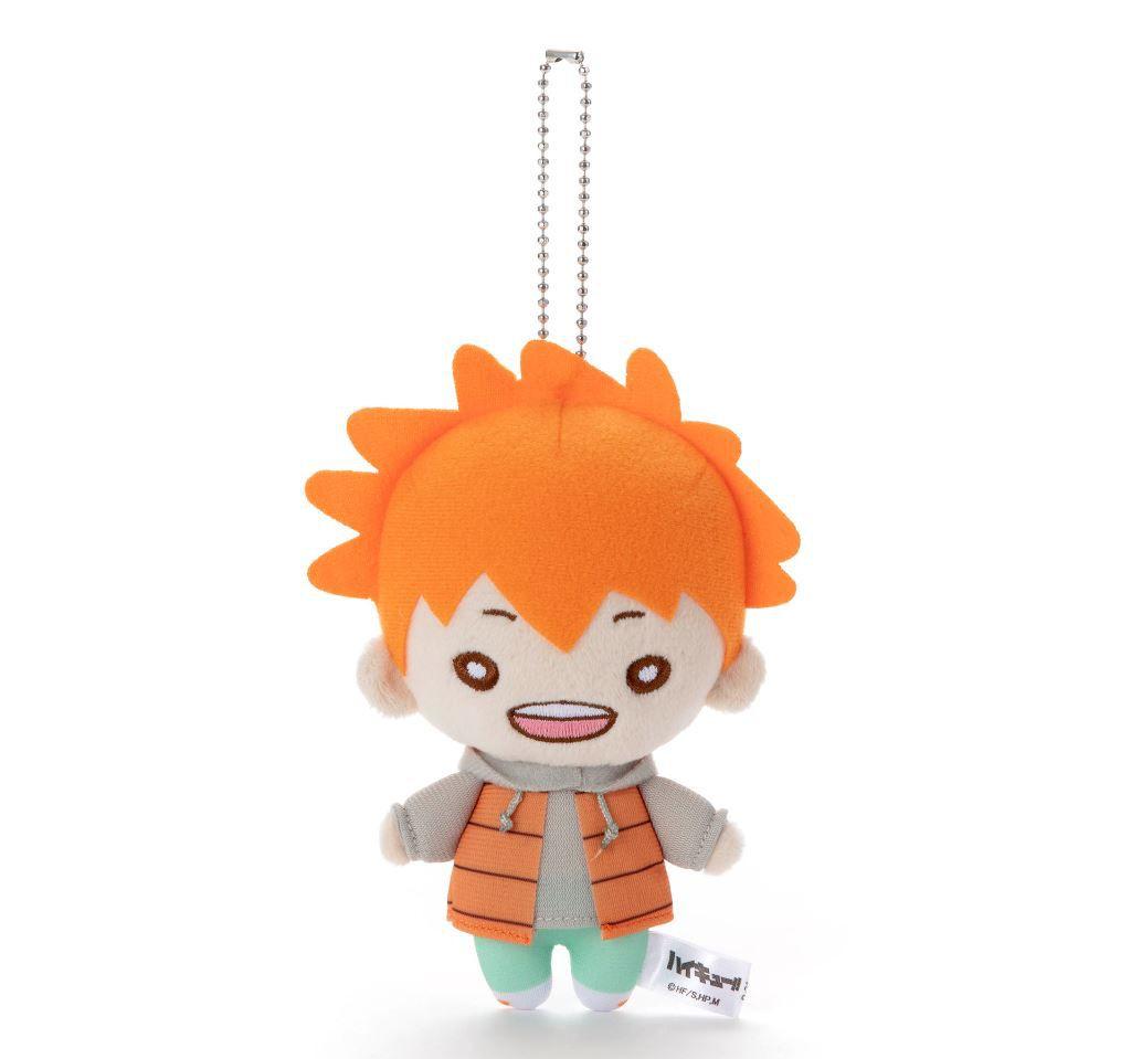排球少年!! 「日向翔陽」冬裝 豆豆眼 公仔掛飾 Nitotan Winter Casual Wear Plush with Ball Chain Hinata【Haikyu!!】