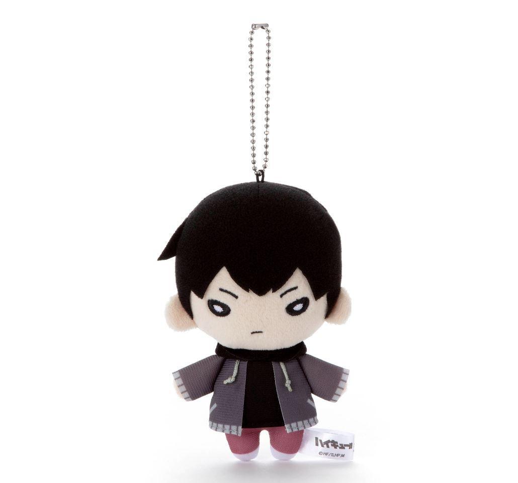 排球少年!! 「影山飛雄」冬裝 豆豆眼 公仔掛飾 Nitotan Winter Casual Wear Plush with Ball Chain Kageyama【Haikyu!!】