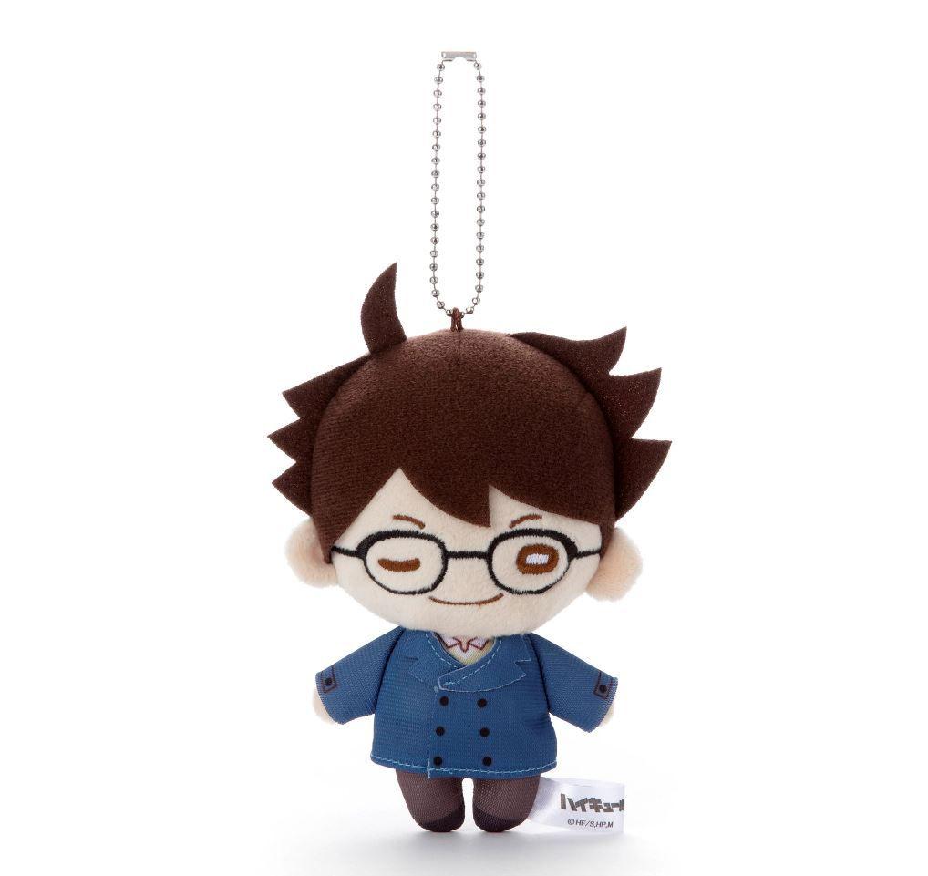 排球少年!! 「及川徹」冬裝 豆豆眼 公仔掛飾 Nitotan Winter Casual Wear Plush with Ball Chain Oikawa【Haikyu!!】