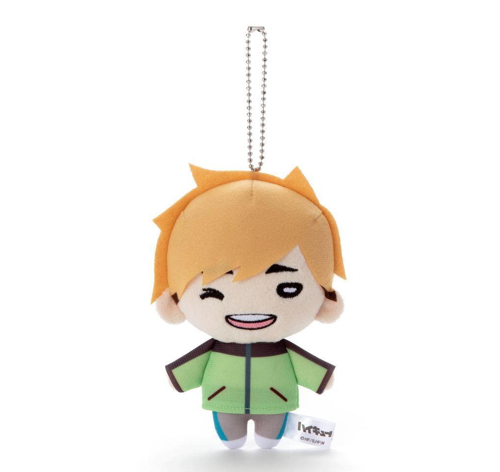 排球少年!! 「宮侑」冬裝 豆豆眼 公仔掛飾 Nitotan Winter Casual Wear Plush with Ball Chain Miya Atsumu【Haikyu!!】