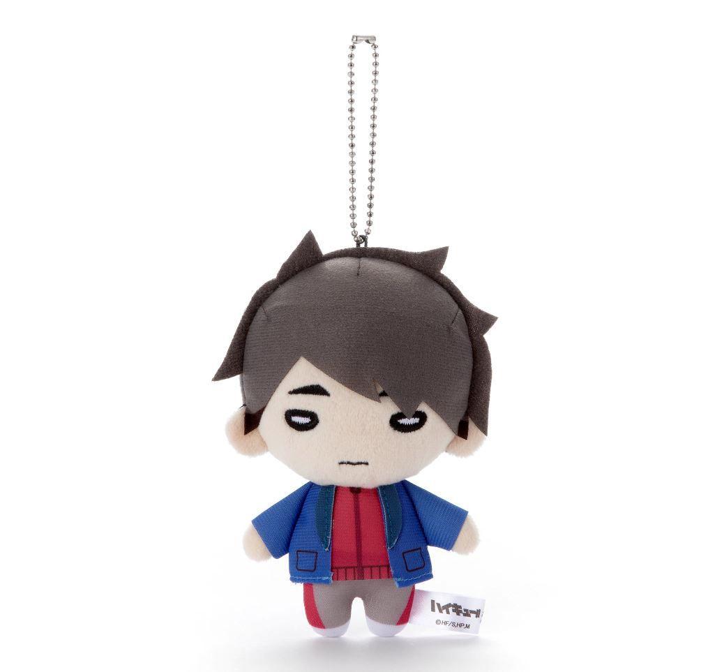 排球少年!! 「宮治」冬裝 豆豆眼 公仔掛飾 Nitotan Winter Casual Wear Plush with Ball Chain Miya Osamu【Haikyu!!】