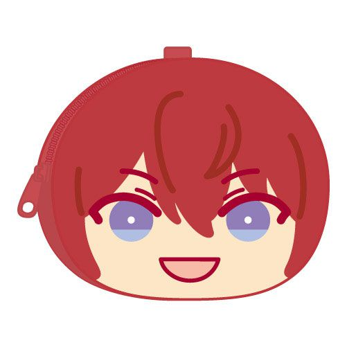 合奏明星 「朱櫻司」鬆軟饅頭 散銀包 Omanju Fukafuka Pouch 3 32. Tsukasa Suou【Ensemble Stars!】
