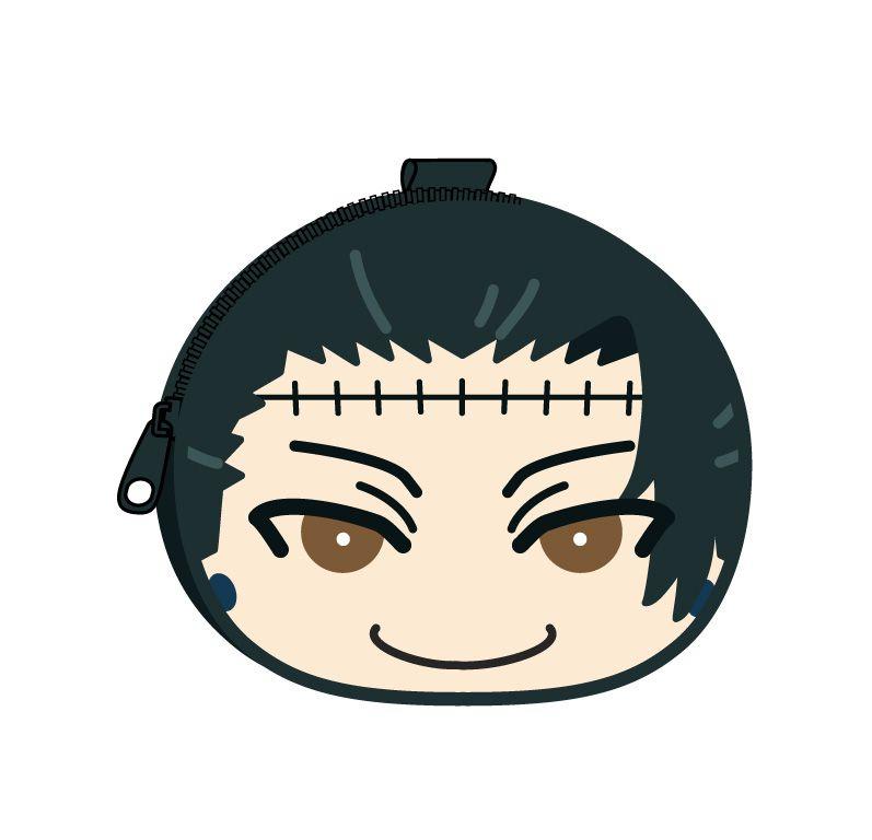 咒術迴戰 「夏油傑」鬆軟饅頭 散銀包 Omanju Fukafuka Pouch 8 Geto Suguru【Jujutsu Kaisen】