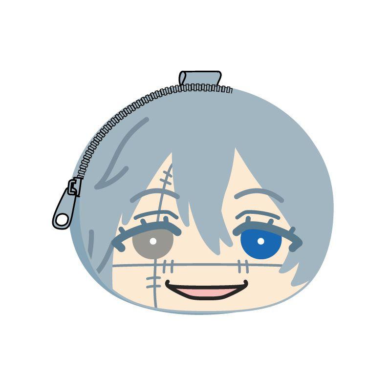 咒術迴戰 「真人」鬆軟饅頭 散銀包 Omanju Fukafuka Pouch 9 Mahito【Jujutsu Kaisen】
