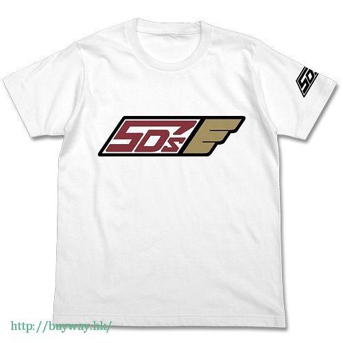 "遊戲王 (加大) ""Team 5D's"" 白色 T-Shirt Team 5D's T-Shirt / WHITE - XL【Yu-Gi-Oh!】"