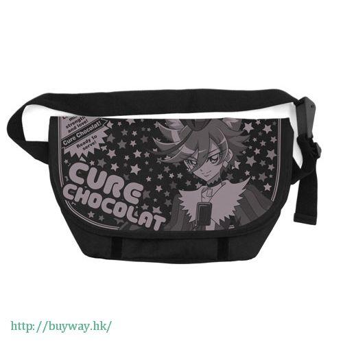 光之美少女系列 「劍城晶 / 巧克力天使」郵差袋 Messenger Bag Cure Chocolat【Pretty Cure Series】