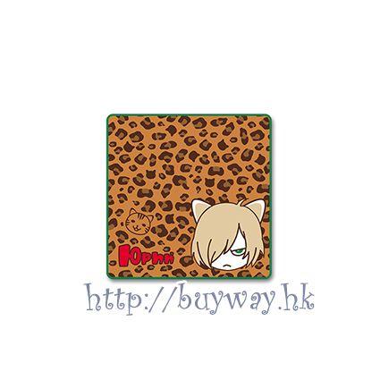 勇利!!! on ICE 一番賞 F 賞「尤里.普利謝茨基」豹紋 小手帕 Kuji Prize F【Yuri on Ice】