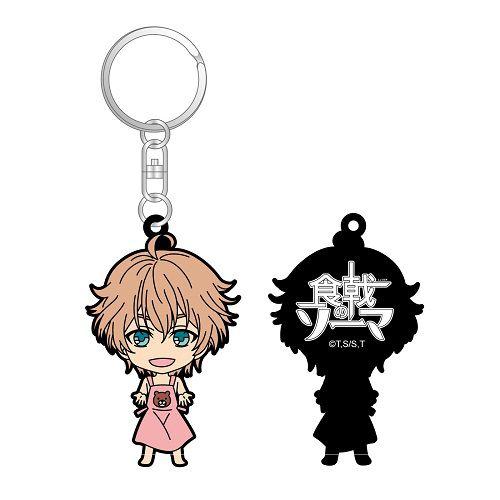 食戟之靈 「一色慧」匙扣 Rubber Key Chain Isshiki Satoshi【Food Wars: Shokugeki no Soma】