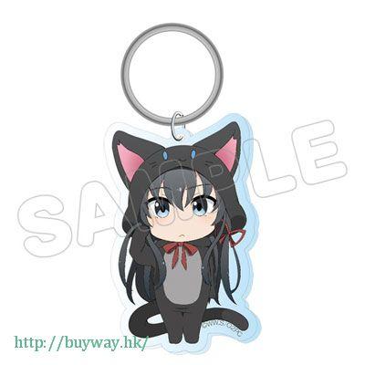 果然我的青春戀愛喜劇搞錯了。 「雪之下雪乃」動物匙扣 Animarukko Acrylic Key Chain Yukino【My youth romantic comedy is wrong as I expected.】