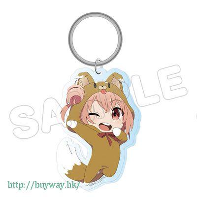果然我的青春戀愛喜劇搞錯了。 「由比濱結衣」動物匙扣 Animarukko Acrylic Key Chain Yui【My youth romantic comedy is wrong as I expected.】