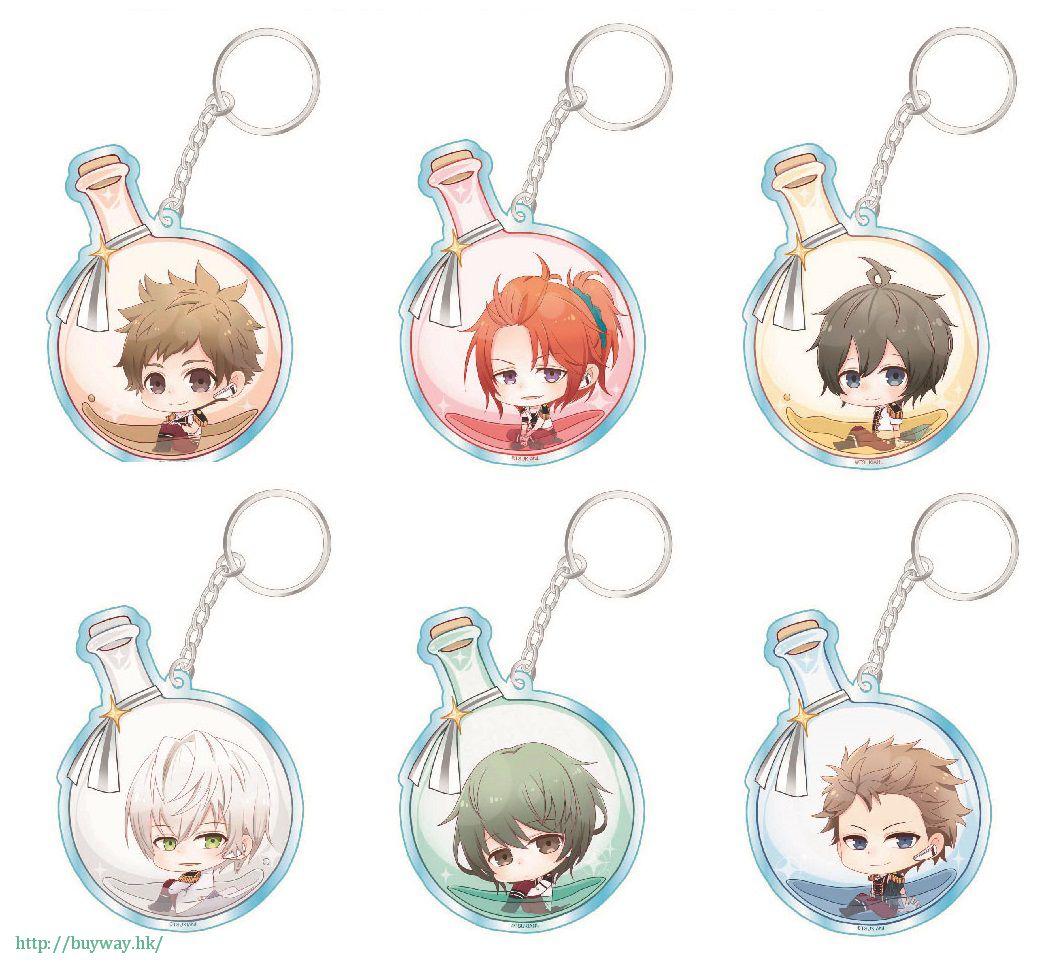 月歌。 「夢想瓶」亞克力匙扣  Vol.1 (6 個入) Flask Series Acrylic Key Chain Collection Vol. 1 (6 Pieces)【Tsukiuta.】